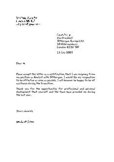 7 Best Two Weeks Notice Letter Images Resignation Letter