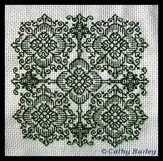 A simple Blackwork pattern