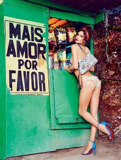 ☆ Alessandra Ambrosio | Photography by Ellen von Unwerth | For Vogue Magazine Brazil | September 2014 ☆ #Alessandra_Ambrosio #Ellen_von_Unwerth #Vogue #2014