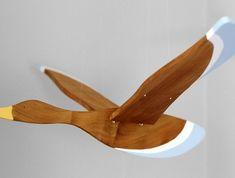 Wooden Flying Bird