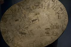 Shaman drum from the Same people of Northern Scandinavia
