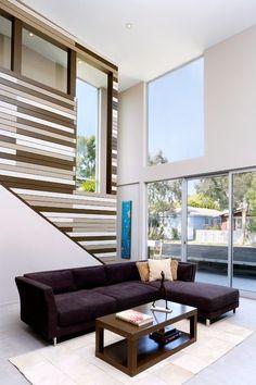 Modal Tasarım Tarafından Gerçekleştirilme çağdaş Oturma Odası