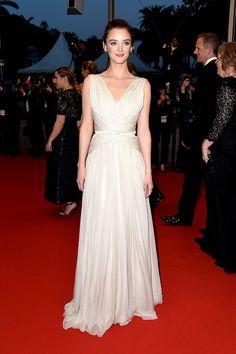 Charlotte Le Bon en la premiere de 'Inside Out' en el Festival de Cannes 2015. - GettyImage