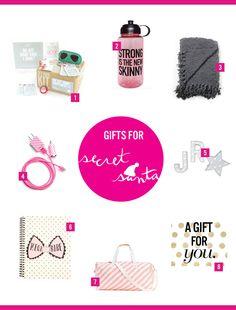 Gifts ideas for Secret Santa! | dormify.com