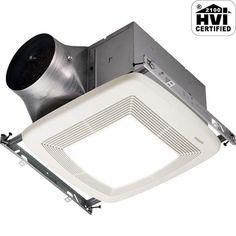 Low Profile Bathroom Fan Heater Httponlinecomplianceinfo - Low profile bathroom fan with light