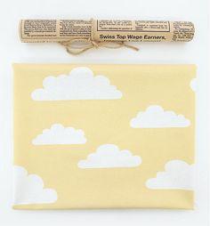 * 70% Cotton + 30% Rayon * Color: White Cloud on Yellow * For pattern size, please see the second picture. * Size: 1 Yard = 110 cm wide x 90 cm long (43 x 36) * Multiple yards will be cut in one continuous piece. * Great for bedding, curtain, clothes, baby blankets, scarf bibs, apron, table cloth, accessories, wall fabric, accessories and more  ----------------------------------------------- * If youd like to track your order, please choose a shipping option called With Tracking Number…