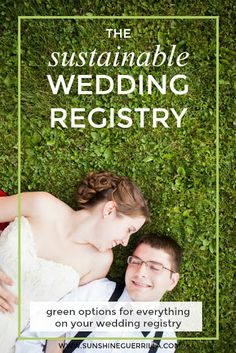 The Sustainable and Zero-Waste Wedding Registry waste wedding ideas Sunshine Guerrilla: The Sustainable Wedding Registry Wedding Planning Tips, Wedding Tips, Wedding Stuff, Plan Your Wedding, Budget Wedding, Sustainable Wedding, Sustainable Living, Sustainable Fashion, Flower Installation