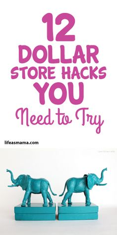 You'd never believe so many of these were found at the dollar store! This is a great list that will totally inspire you. Pin now- shop later!