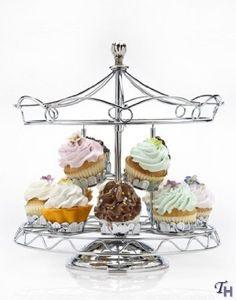 Amazon.com: Carousel Cupcake Stand: Home & Kitchen