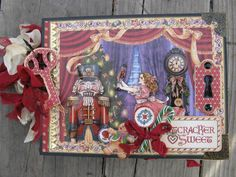 Nutcracker Sweet Mini Album by pianohearder - Cards and Paper Crafts at Splitcoaststampers