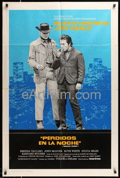 It's #JonVoight's #birthday https://eartfilm.com/search?q=jon+voight #actors #acting #MidnightCowboy #Deliverance #ComingHome #RayDonovan #FantasticBeasts #movies #posters #Film #movieposters #cinema  Midnight Cowboy 1969 27x41 Original Span-U.S One Sheet