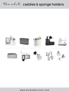 Is your sink area a permanent mess? Are your kitchen tools in need of a good home? Visit the link – this article is for YOU!