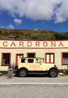Cardrona Hotel auf dem Weg von Wanaka nach Queenstown New Zealand