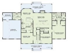 Main Floor Plan 17-205  2698 sq ft  5 beds  3.00 baths  70 ft wide  51 ft deep more details
