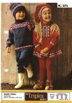 Norwegian style. So cute!