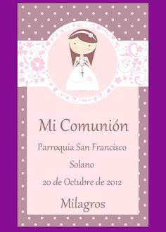 tarjeta de comunion - Buscar con Google Communion, Altered Art, Art Projects, Printables, Christmas Ornaments, Holiday Decor, Frame, Party, Crafts