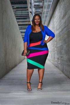 Vibrant Style | Plus Size Fashion | TrendyCurvy
