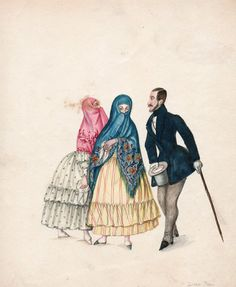 Lima criolloa en tiempos de Pancho Fierro c.1850