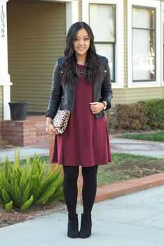 Go-To Combo for Dressing Up Almost Anything + Maroon Dress Lookalike Under $20