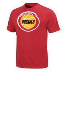 NBA Houston Rockets Mens Hakeem Olajuwon TShirt Red XXLarge -- Want  additional info  Click ff2f735b083