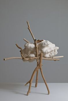Simple natural arrangement  of things created by the Creator--artist Nao Matsunaga:
