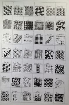page of patterns! by smitchell99, via Flickr