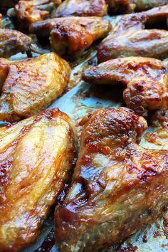 Chicken Wings, Pork, Baking, Recipes, Kale Stir Fry, Bakken, Ripped Recipes, Backen