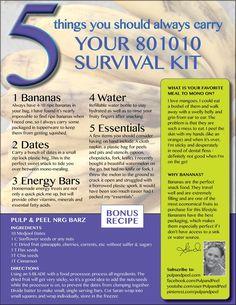 80/10/10 survival kit