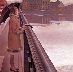 Alex Colville - The River Thames