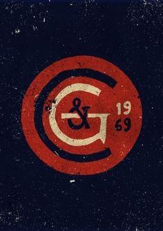 Vintage logo circle in Vintage