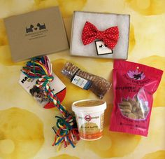 """""""All You Need Is Love,"""" says February 2017 Dapper Dog Box! Read our review of this monthly dog subscription box with organic and natural items!   The Dapper Dog Box February 2017 Subscription Box Review + Coupon →  https://hellosubscription.com/2017/02/dapper-dog-box-february-2017-subscription-box-review-coupon/ #TheDapperDogBox  #subscriptionbox"""
