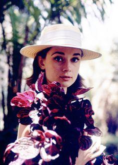 """rareaudreyhepburn: """"""""Audrey Hepburn May 4, 1929 - January 20, 1993 """" """"To plant a garden is to believe in tomorrow."""" - Audrey Hepburn """" """""""