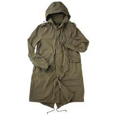 U.S. G.I. Fishtail Parka Shell- RDDUSA Military Clothing