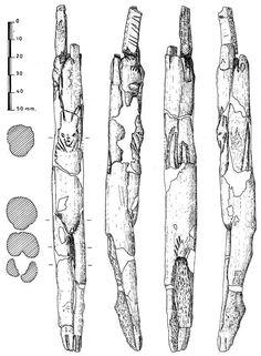 Figura humana bestializada conocida como Venus de Las Caldas. Asturias.