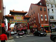 Chinatown in Philadelphia, PA