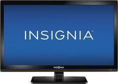 "Insignia - 24"" Class (23-5/8"" Diag.) - LED - 720p - HDTV DVD Combo - Black #Insignia"