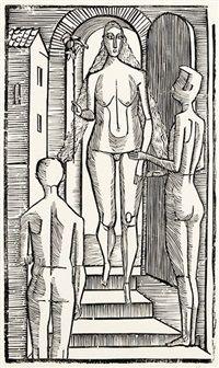 Weibliches Ideal auch Die Schöne par Gerhard Marcks