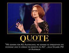 Julia Gillard - for ALL Australians.