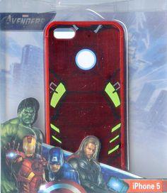 Hard case cover for Iphone 5 5s Marvel Super Hero Avengers Ironman