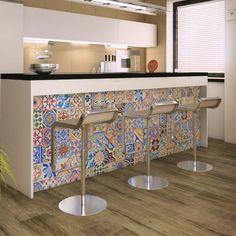 Produtos - Ceusa Revestimentos Cerâmicos - Linha Decorative - Ladrilho Composê Brilho