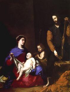 La Sagrada Família (1639)  José Ribera ( L'Espanyoleto)