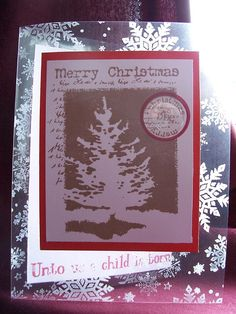 Christmas cards on Acetate.