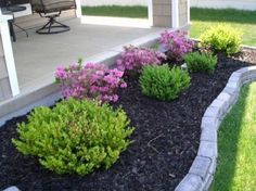 Phenomenal 40+ Impressive Front Porch Landscaping Ideas to Increase Your Home Beautiful http://goodsgn.com/gardens/40-impressive-front-porch-landscaping-ideas-to-increase-your-home-beautiful/