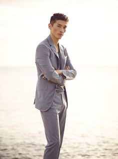 SUMMER SUIT COLLECTION Lightweight summer suits #MangoMan #Menswear #Man #Suit #SS15 #Summer
