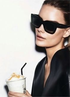 Frap hour with a side of Céline. @thecoveteur