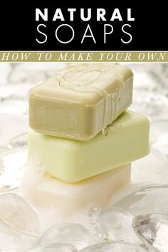 DIY natural soap