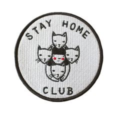 """Our logo on a 3.5"""" embroidered patch with merrowed edge and iron-on backing. Follow the instructions below to affix this patch to a garment of your choosing (click to enlarge)! For items that will be"""