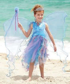 Another great find on #zulily! Water Fairy Dress - Girls by chasing fireflies #zulilyfinds