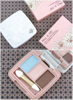 Paul & Joe Eye Color Trio 6 April in Paris & Compact I: Review and Swatches  Beauty