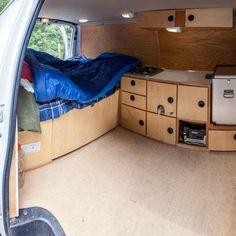 Risultati immagini per alex honnold camper Van Interior, Camper Interior, Truck Camping, Van Camping, Camper Trailers, Camper Van, Travel Trailers, Rv Campers, Trailer Park